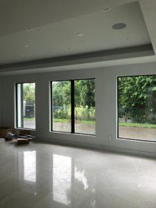 A photo of impact windows.